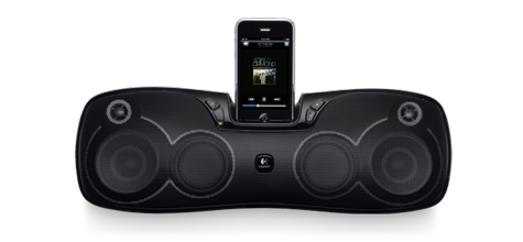 Have Tunes, Will Travel Logitech Unveils Rechargeable Speaker Dock for the iPod