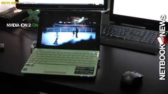 01-01 Asus Eee PC 1015PN Benchmark เล่นไฟล์ HD กระจุยแต่เกมอืด