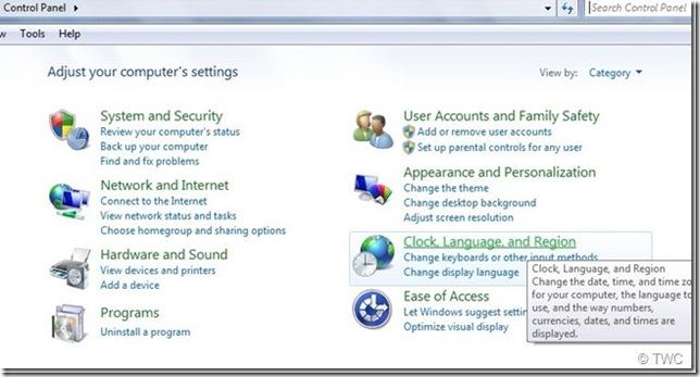 01 วิธีการเปลี่ยนภาษาใน Windows Live Essentials 2011