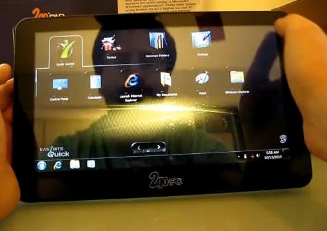 02-01 ลองมาดูเครื่อง Windows Tablet กันบ้างกับ CTL 2goPad SL10