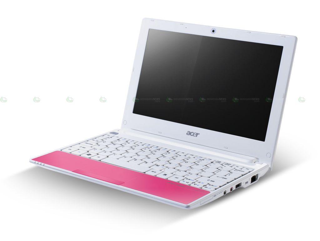 02-01 Acer Aspire One Happy ตัวจริงออกมาแล้ว สดใส โดนใจสาวๆ