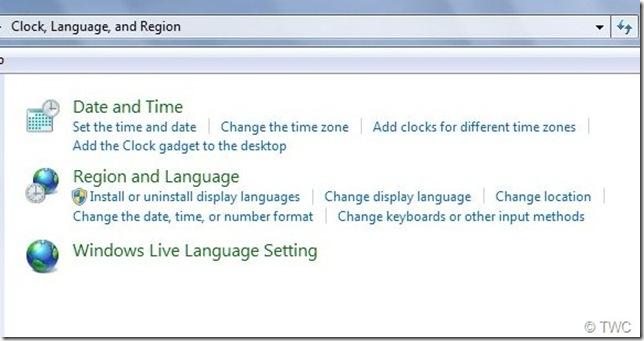02 วิธีการเปลี่ยนภาษาใน Windows Live Essentials 2011