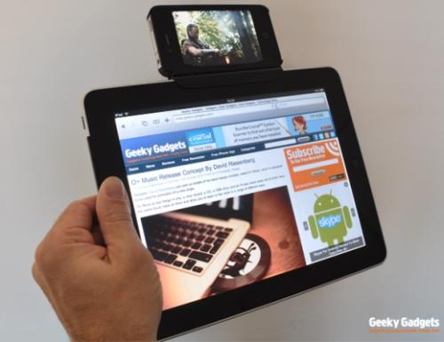 03-01 ทำกันเองบ้านๆ เนี่ยล่ะ เอา iPhone ต่อเข้ากับ iPad เออ ทำไปได้