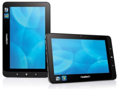 03-01 Novatech nTablet อีกหนึ่งกระดานฉนวนที่สามารถบูตได้ทั้งระบบ Windows 7 และระบบ Android