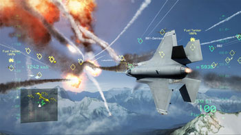 03-01 Tom Clancy's H.A.W.X. 2 Benchmark ทดสอบว่าเครื่องคุณแรงดุจเครื่องบินรบ