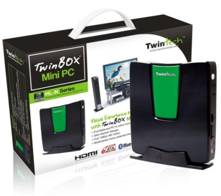 03-01 TwinTech เปิดตัว Nettop TwinBox อีกหนึ่ง Atom Dual Core และ NVIDIA ION