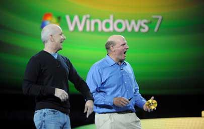 04-01 ฉลอง Microsoft Windows 7 ปีแรกขายออกไปแล้วกว่า 240 ล้าน ก็อปปี้