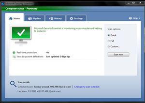 04-01 Microsoft Security Essentials เปิดให้ดาวน์โหลดได้ฟรีแล้วสำหรับธุรกิจขนาดเล็ก