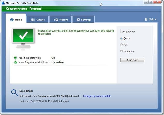 08 หมั่นตรวจเช็คไวรัสและสปายแวร์ในเครื่อง