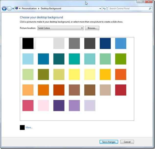 11 เลือก Wallpaper เป็นสีธรรมดาๆ