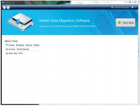 Intel Data Migration Software