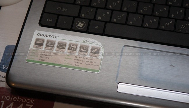 gigabyte notebook 10