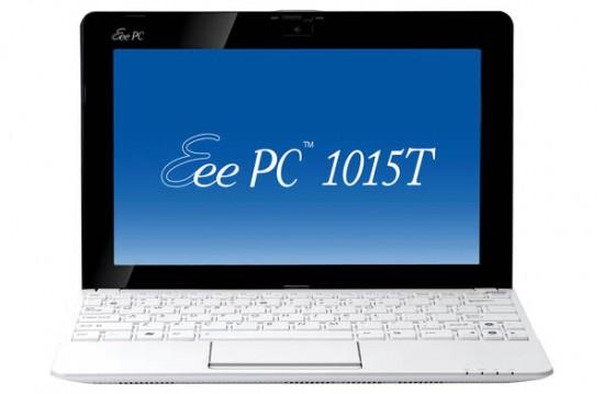 01-01 ความคืบหน้า Asus Eee PC 1015T ตอนนี้วางจำหน่ายที่ประเทศอเมริกาแล้ว