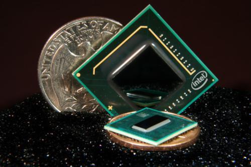 01 01 Intel เดินเครื่องผลิต Intel Atom Oak Trail