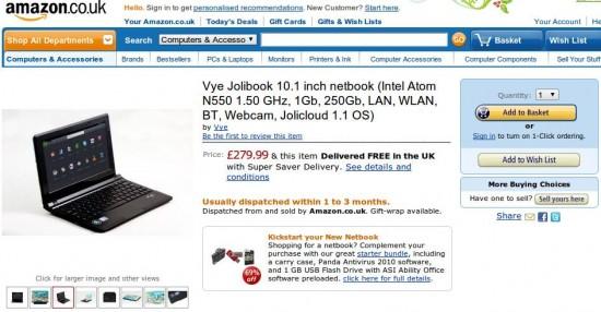 01-01 Jolibook สามารถสั่งซื้อผ่าน Amazon ได้แล้วพร้อมส่งของให้แล้ว