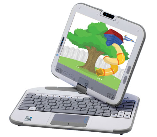 01-01 PeeWeePC เปิดตัวเครื่อง Pivot 2.0 Convertible Tablet สำหรับเด็กๆ