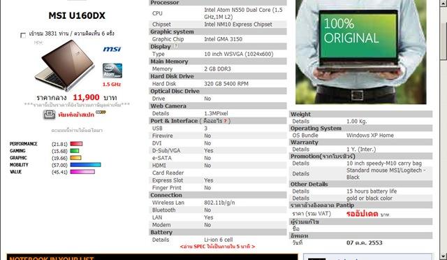 01 MSI U160DX