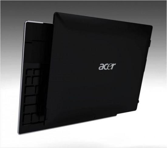 02 01 Acer Convertible Tablet อาจเป็น AMD Fusion และเสียบฐานคีย์บอร์ดได้