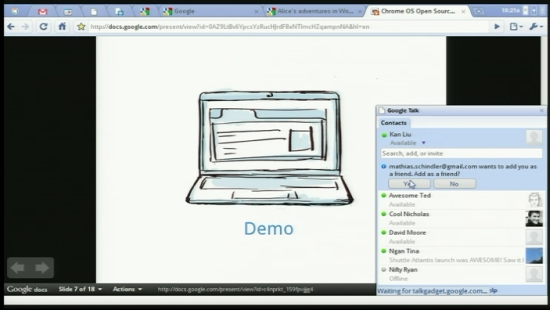 02 01 Google Chrome OS เน็ตบุ๊กจะออกขายในปีหน้า 2011