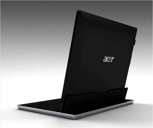02 02 Acer Convertible Tablet อาจเป็น AMD Fusion และเสียบฐานคีย์บอร์ดได้