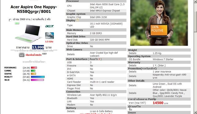 02 Acer Aspire One Happy N558Qgrgr 8001