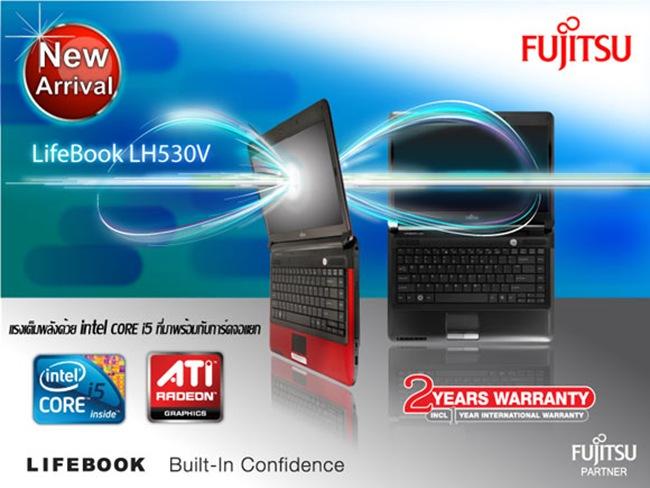 04 Fujitsu Lifebook LH530V-i5