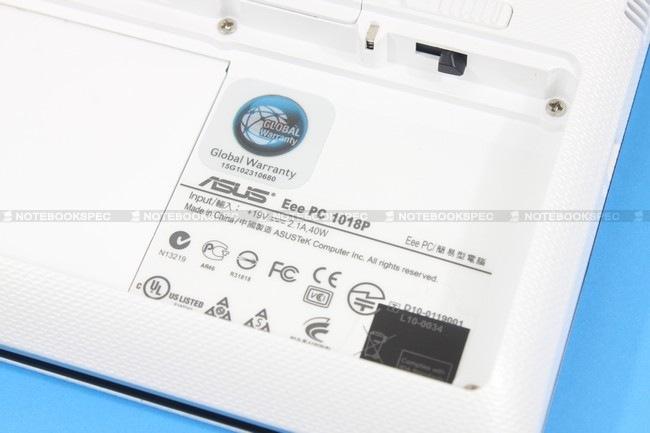 28 Asus Eee PC 1018