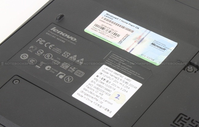 Lenovo IdeaPad V460 33