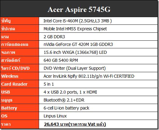 spec-5745G