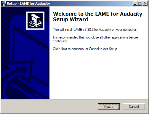 02 LAME MP3 Encoder