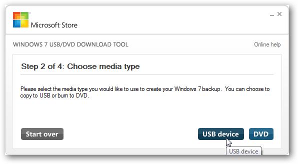 02 ลง Windows จากแฟลชไดรว์ผ่าน Windows 7 USB DVD Download Tool