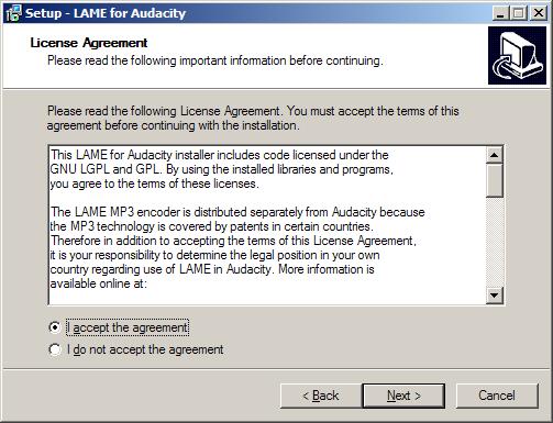 03 LAME MP3 Encoder