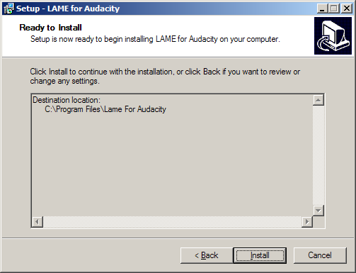 05 LAME MP3 Encoder