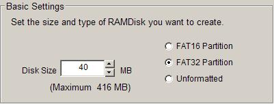 11 Dataram RAMDisk