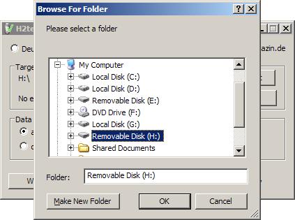 02 H2testw โปรแกรมทดสอบ USB Drive และการ์ดเก็บข้อมูล