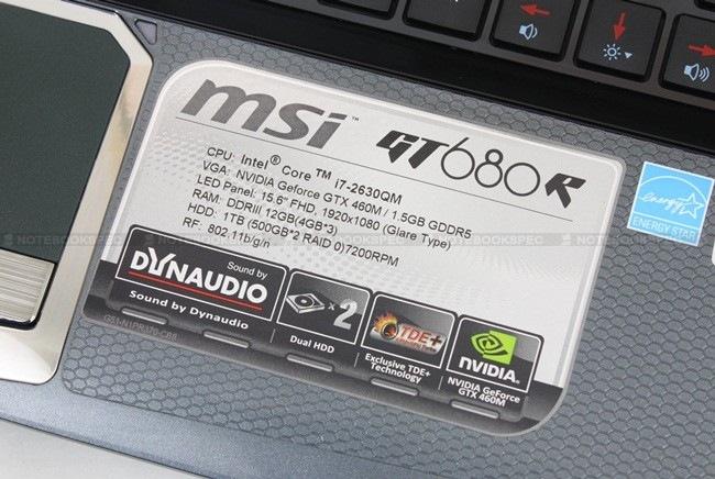 09 MSI GT680R
