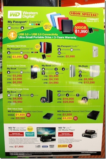 WD-Commart 3