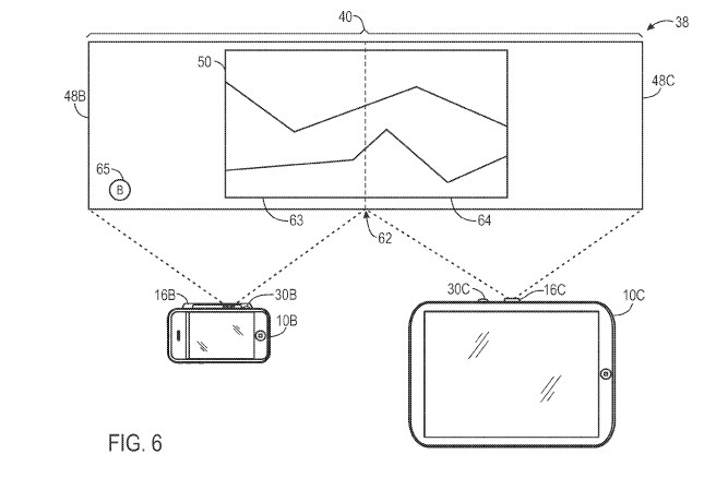 apple pico projector workspace patent 4