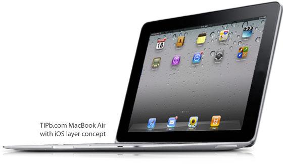 macbook air ios