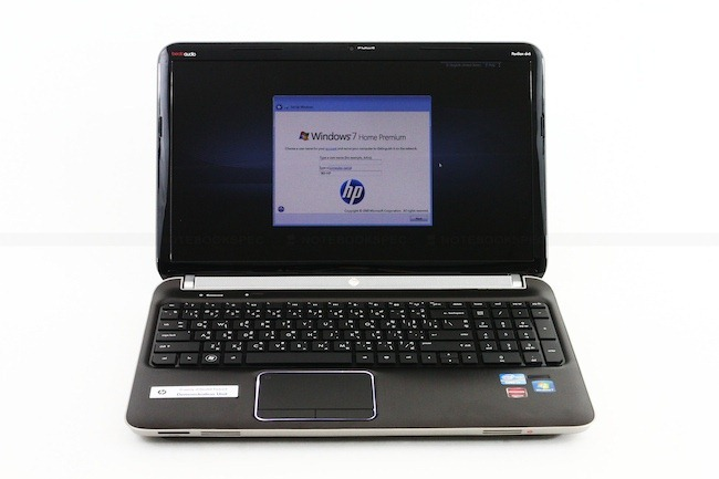 Review HP DV6 6169TX 3