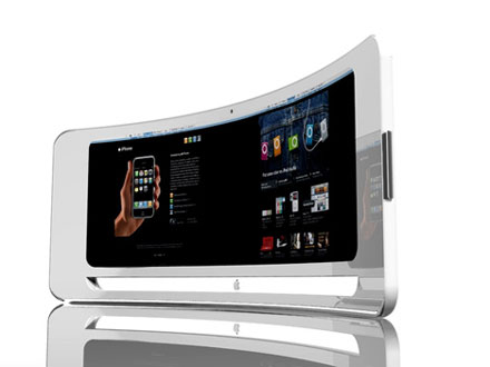 curved imac iview