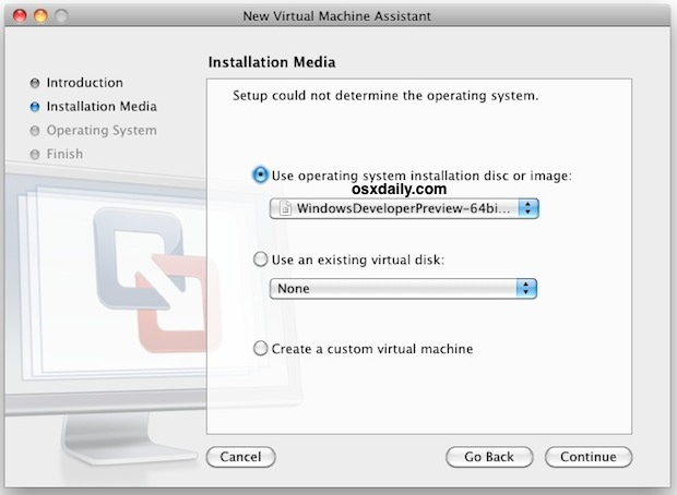 install windows 8 vmware1