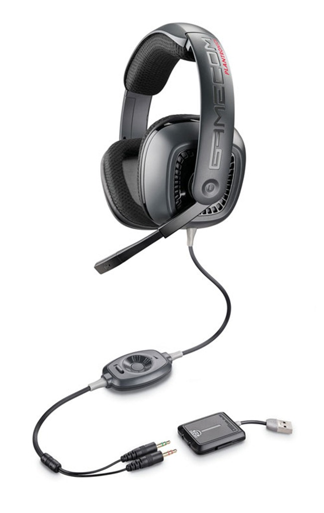 Plantronics GameCom 777 Surround Sound PC Headset with Dolby Technology.  (PRNewsFoto/Plantronics, Inc.)