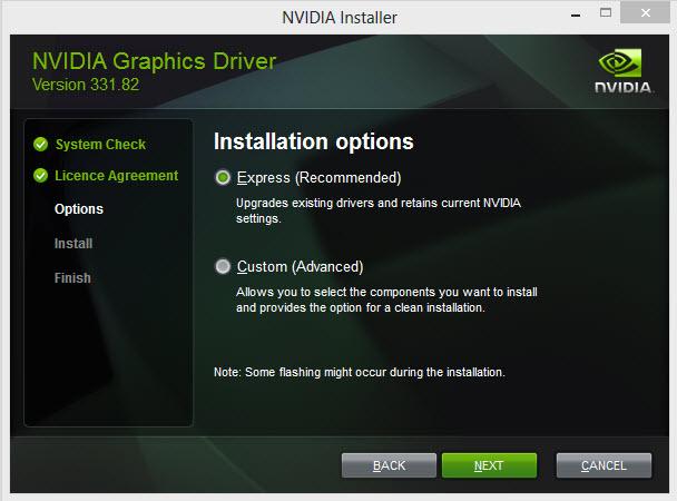 nvidia setup 2