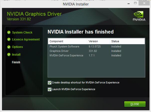 nvidia setup 4