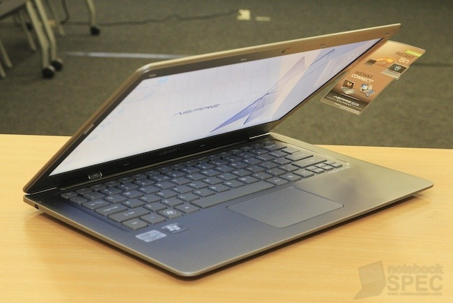 Hands On Acer Aspire S3 - Ultrabook  1