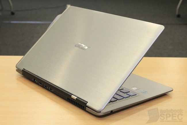 Hands On Acer Aspire S3 - Ultrabook  2