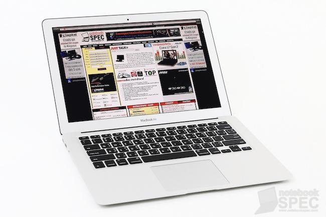 Review Apple MacBook Air 2011 117