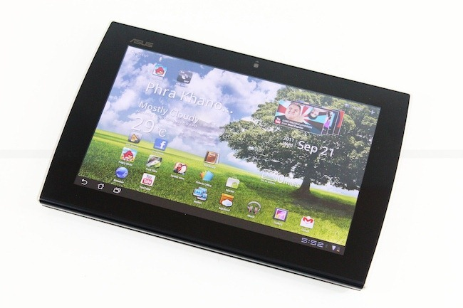Review Asus Eee Pad Slider by NBS 33