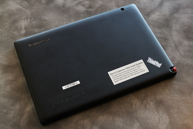 Review Lenovo ThinkPad Tablet - NBS 24